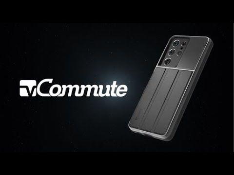 vCommute Galaxy S21 Ultra 5G Wallet Case – Space Gray