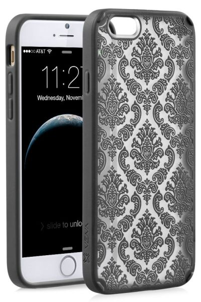 TACT ARMOR Damask Design Hybrid PC+TPU Case Cover for Apple iPhone 6 / 6s (4.7