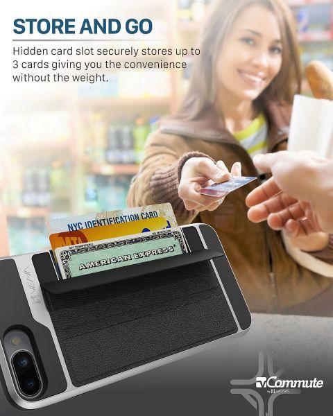 vCommute iPhone 8 Plus / iPhone 7 Plus Wallet Case