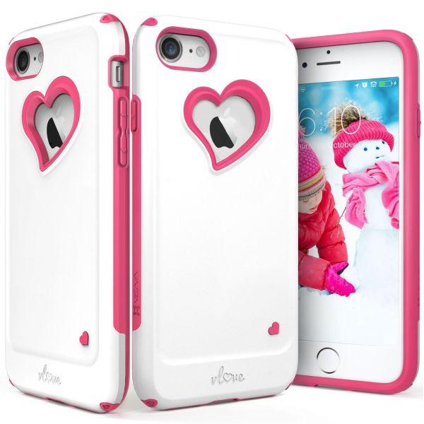 iPhone 8 Heart Case vLove