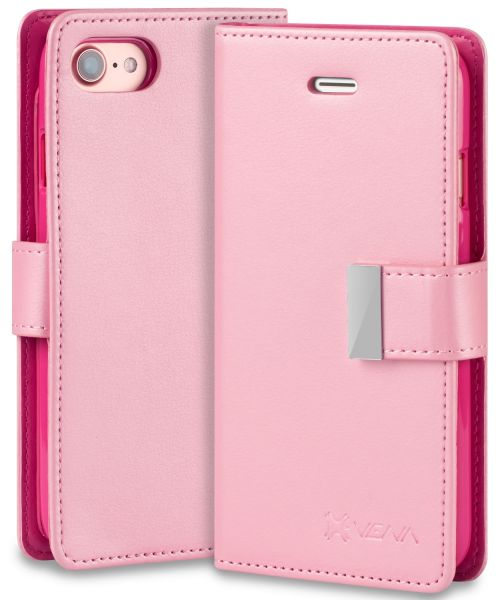 iPhone SE 2020 Leather Wallet Case vDiary
