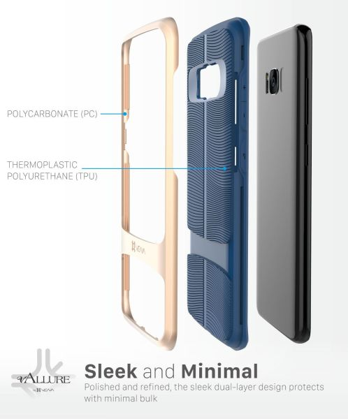 Samsung Galaxy S8 Case vAllure
