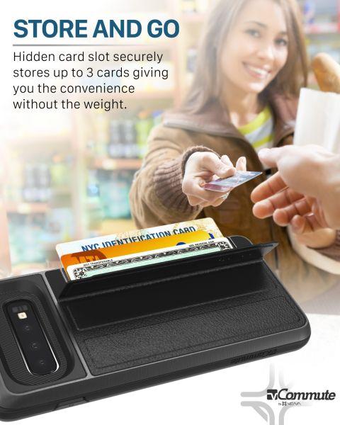 Galaxy S10 Wallet Case vCommute