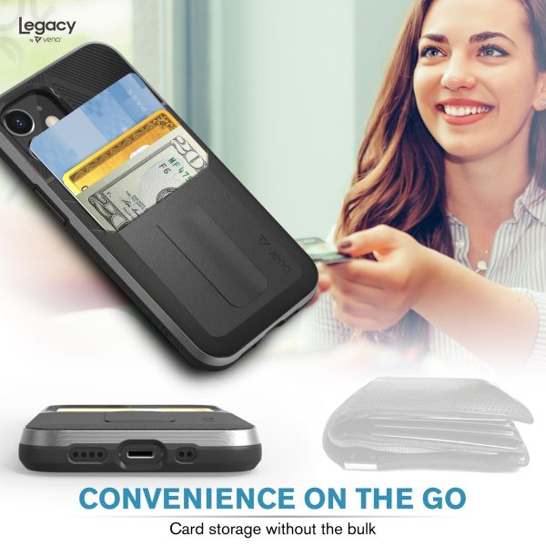 LEGACY iPhone 12 Mini Wallet Kickstand Case - Space Gray