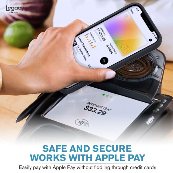 LEGACY iPhone 12 Wallet Kickstand Case - Space Gray