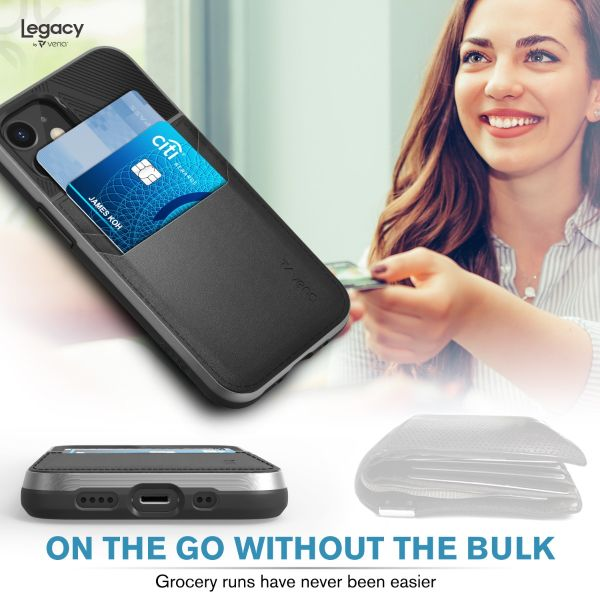 LEGACY iPhone 12 Mini Wallet Case - Space Gray