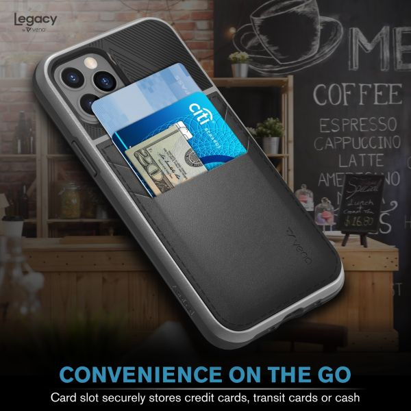 LEGACY iPhone 12 Pro Wallet Case - Space Gray