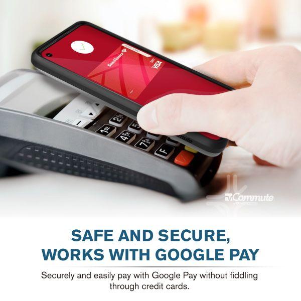 vCommute Google Pixel 5a with 5G Wallet Case