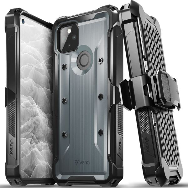 vArmor Google Pixel 5a with 5G Holster Case