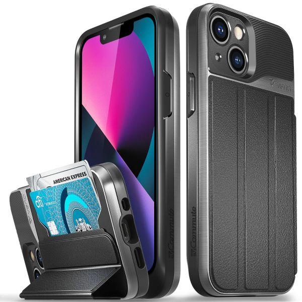 vCommute iPhone 13 mini Wallet Case - Space Gray