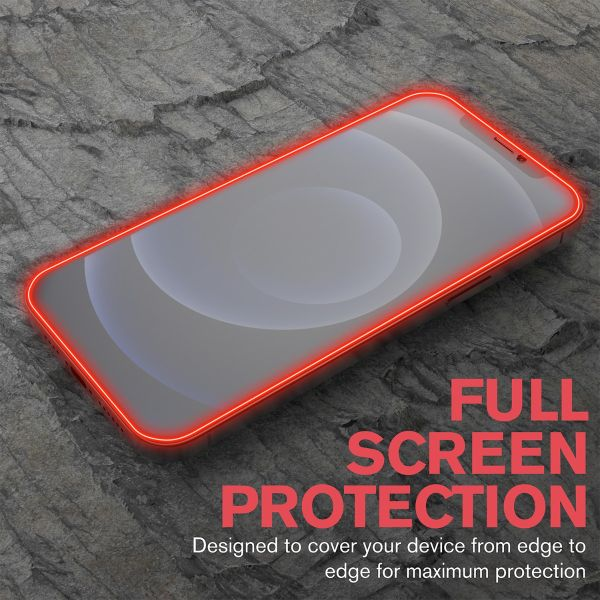 2.5D 0.3mm Silk Print Tempered Glass Screen Protector for Apple iPhone 12 Mini (5.4