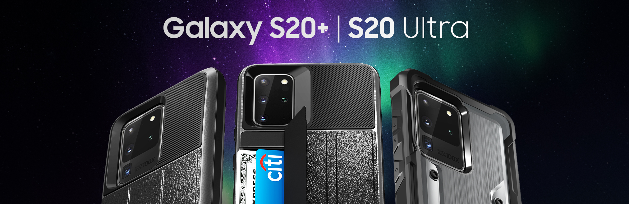 Galaxy S20 Plus and Galaxy S20 Ultra Cases