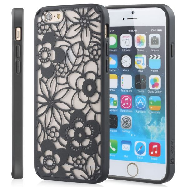 TACT ARMOR Flora Design Hybrid PC+TPU Case Cover for Apple iPhone 6 / 6s (4.7