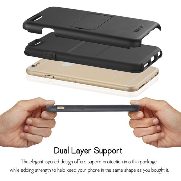 LEGACY Dual Layer (PC + Silicone) Hybrid Phone Case Cover for Apple iPhone 6 / 6s (4.7