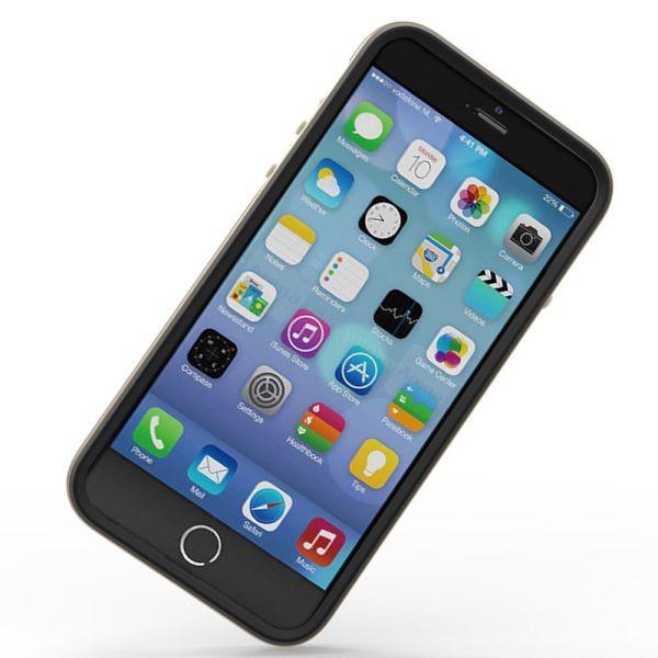 vFrame Hybrid Metal Bumper Frame (Aluminum + TPU) Case for Apple iPhone 6 / 6s (4.7