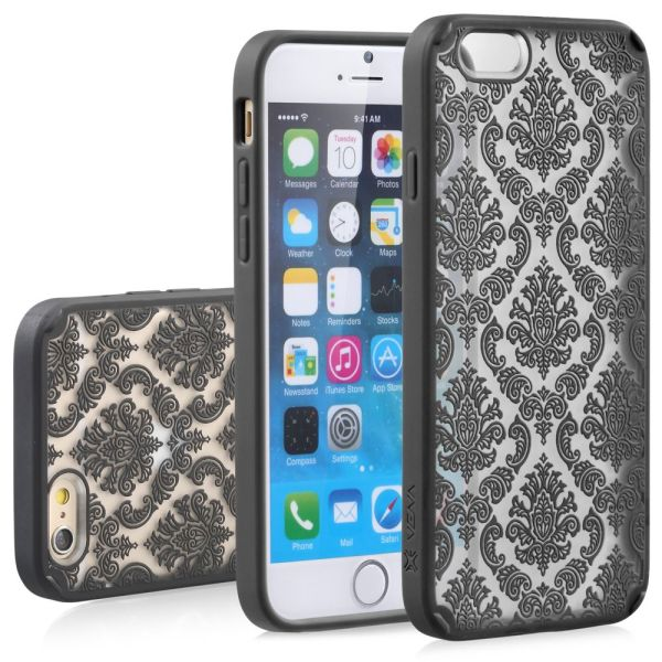TACT ARMOR Damask Design PC+TPU Case Cover for Apple iPhone 6 Plus / 6s Plus (5.5