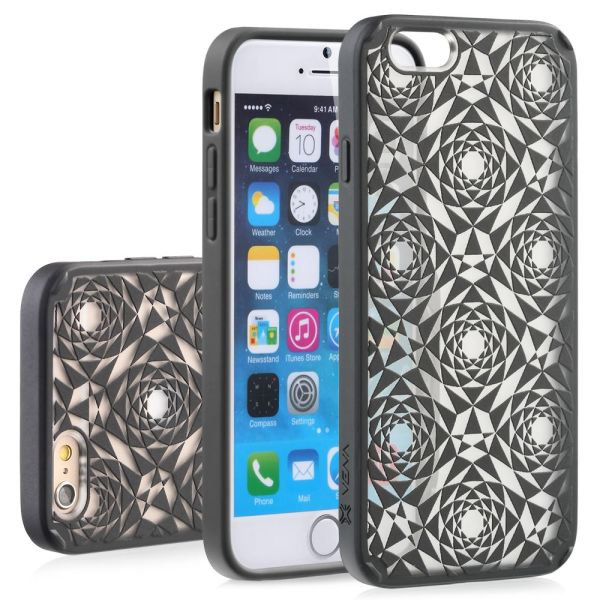 TACT ARMOR Polygon Design PC+TPU Case Cover for Apple iPhone 6 / 6s Plus (5.5