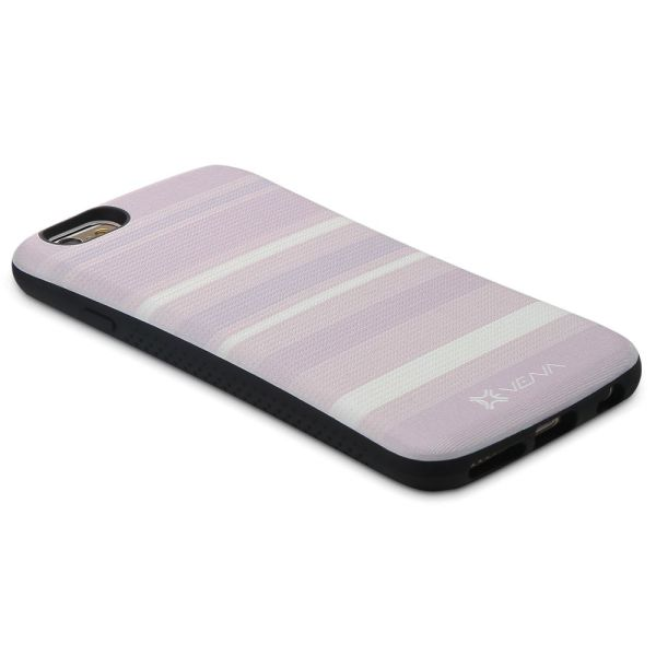 ARCH Neo Stripe Hybrid TPU+PC (Backplate) Hard Shell Case for Apple iPhone 6 / 6s Plus (5.5