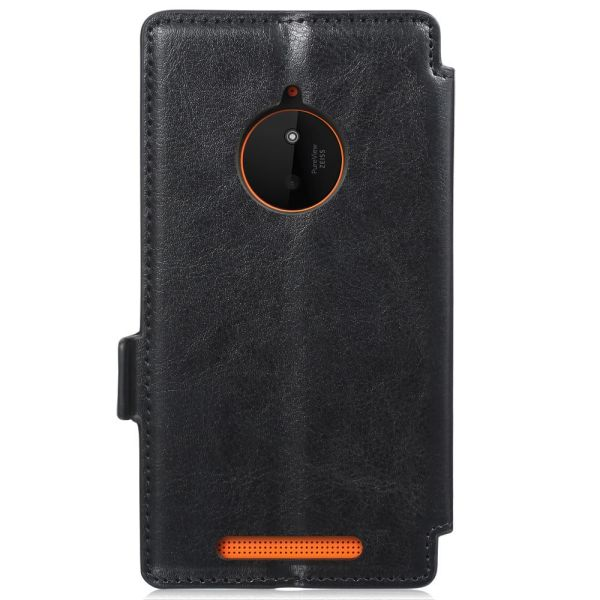 vFolio Vintage PU Leather Wallet Flip Stand Case with Card Pockets for Nokia Lumia 830