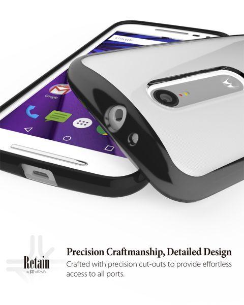 RETAIN Hybrid PC+TPU Case for Motorola Moto G (3rd Gen, 2015)