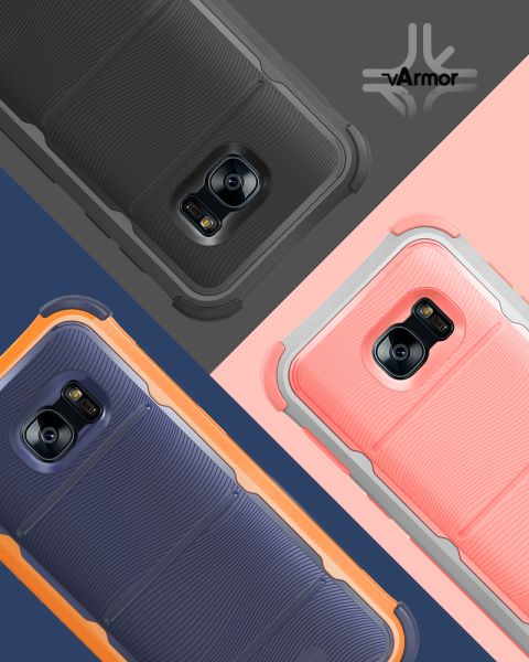 vArmor (PC+TPU) Rugged Case for Samsung Galaxy S7