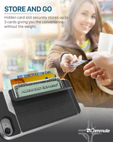 iPhone 8 Wallet Case vCommute