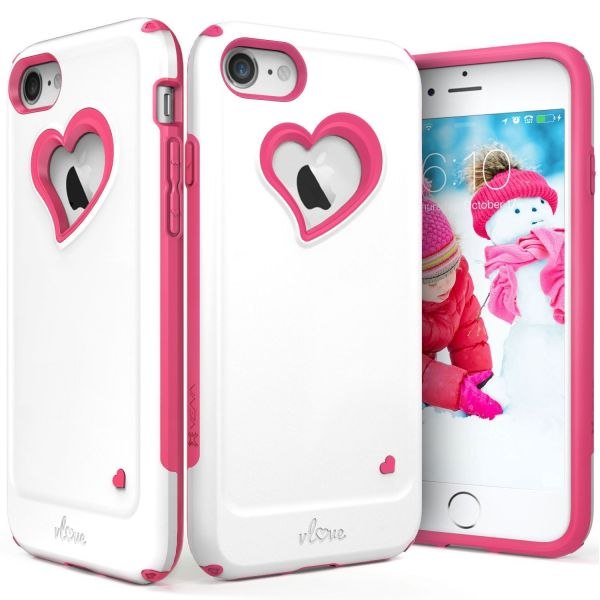 iPhone 8 / iPhone 7 Heart Case vLove