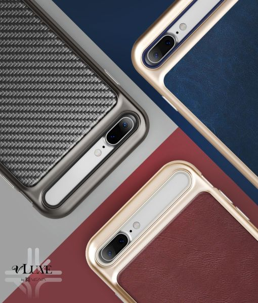 iPhone 8 Plus Leather Case vLuxe