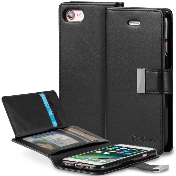 iPhone 8 / iPhone  7 Leather Wallet Case vDiary