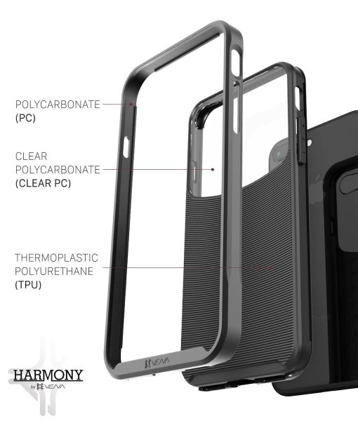 iPhone 8 Plus Clear Hybrid Case Harmony