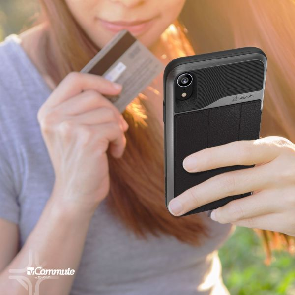 iPhone XR Wallet Case vCommute