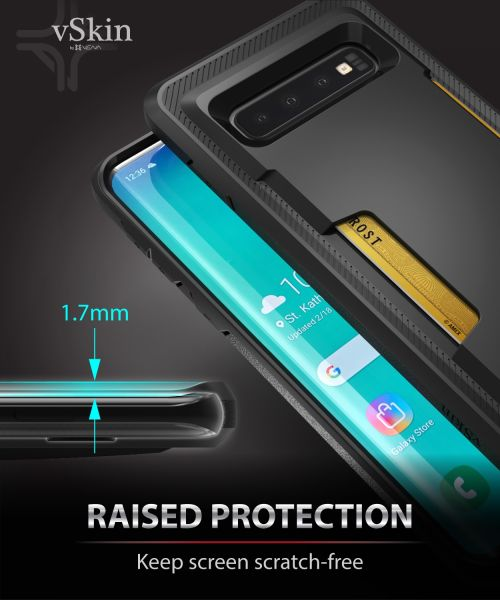 Galaxy S10 Card Case with Credit Card Holder vSkin