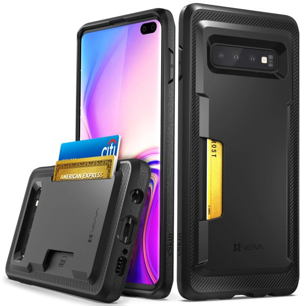 Galaxy S10 Plus Card Case with Credit Card Holder vSkin