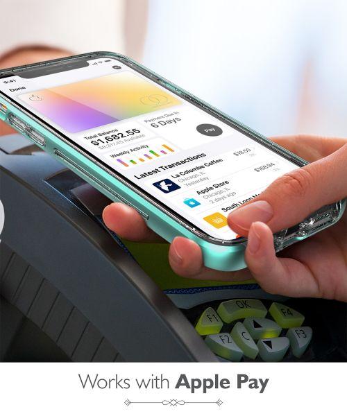 vLove iPhone 11 Pro Max Glitter Heart Case