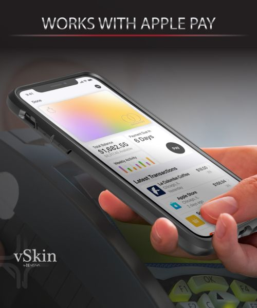 vSkin iPhone 11 Pro Max Card Case with Credit Card Holder