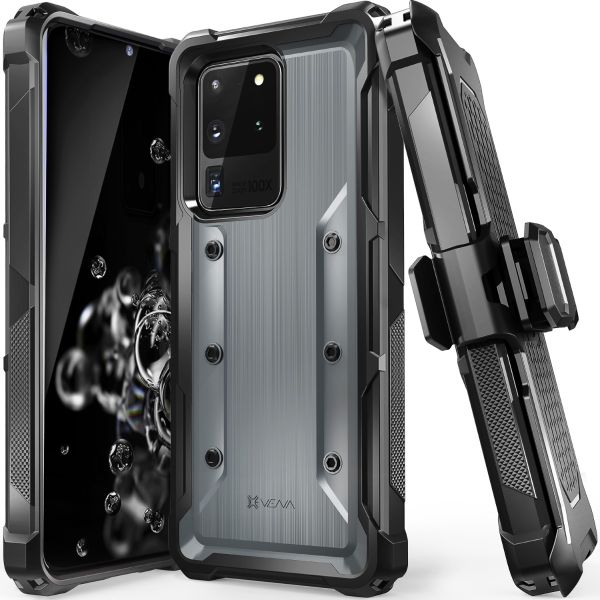 Vena vArmor Galaxy S20 Ultra Holster Case – Space Gray