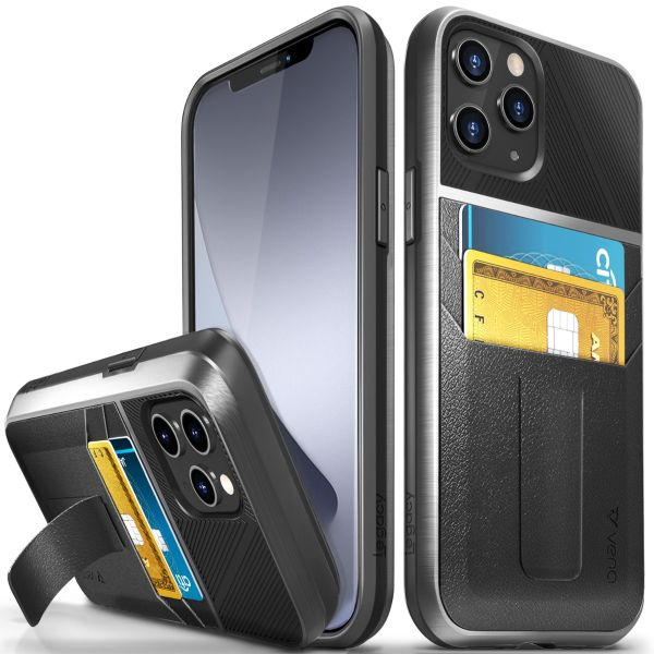 LEGACY iPhone 12 Pro Max Wallet Kickstand Case - Space Gray