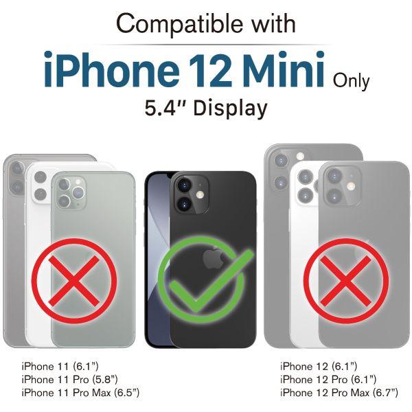 vLove iPhone 12 Mini Glitter Case