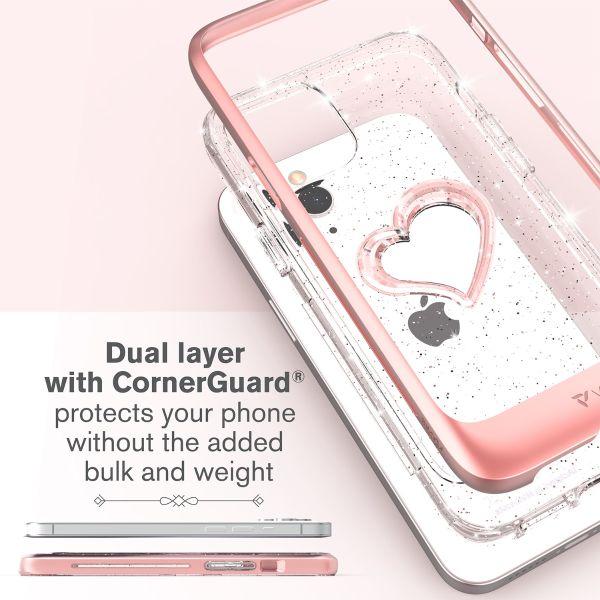 vLove iPhone 12 Glitter Case