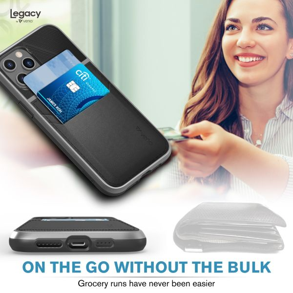 LEGACY iPhone 12 Pro Max Wallet Case - Space Gray